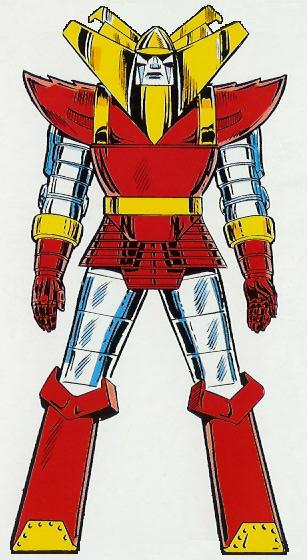 Red Ronin in The Official Handbook of the Marvel Universe Master Edition #7