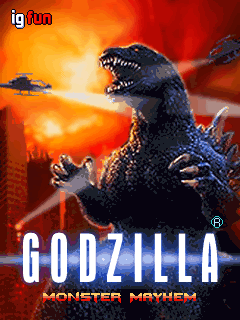 Godzilla: Monster Mayhem title screen