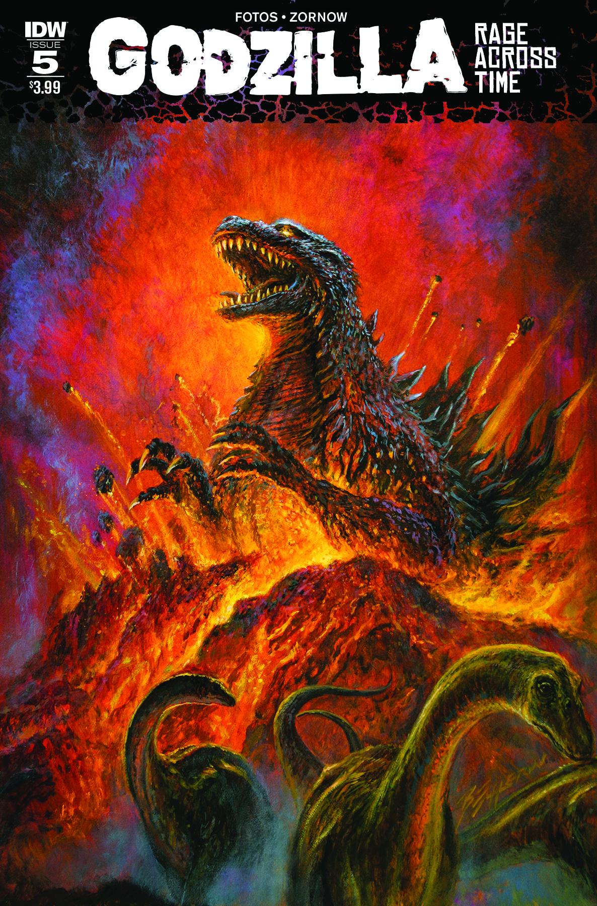Godzilla Oblivion #4 NEW!!! of 5