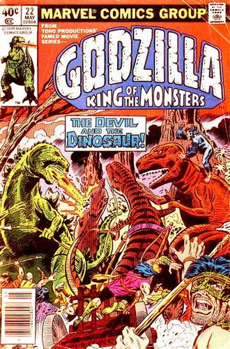 Cover of issue #22 by Herb Trimpe
