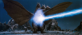 Ghidorah is unfazed by Godzilla's atomic breath!.png