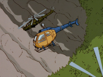 The H.E.A.T. Copter in End of the Line