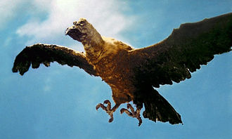 The Giant Condor in Ebirah, Horror of the Deep