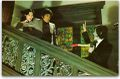 Evil of Dracula - the vampire confronts Shiraki and Kumi on the stairs.jpg
