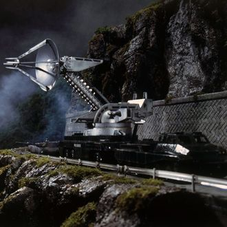 The Type 90 Maser Cannon in Godzilla Against Mechagodzilla