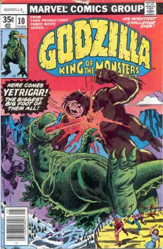 Cover of issue #10 by Herb Trimpe