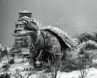 Anguirus in Godzilla Raids Again