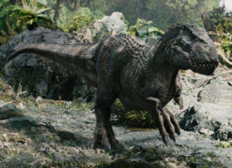 a female V-rex