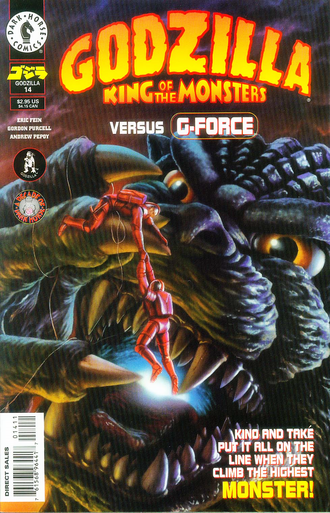 Cover of issue #14 by Chris Scalf