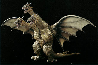 King Ghidorah in Godzilla, Mothra and King Ghidorah: Giant Monsters All-Out Attack
