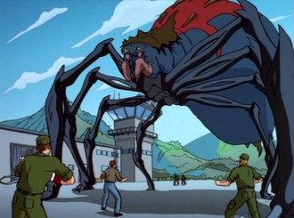 The Giant Mutant Widow Spider Queen
