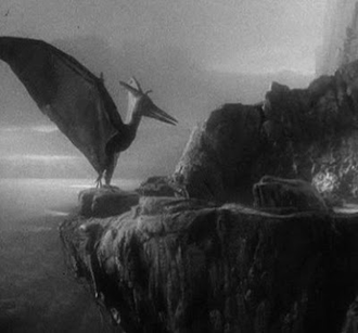 A Pteranodon in King Kong (1933)