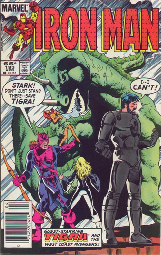 Cover of issue #193 by Herb Trimpe and Dave Cockrum