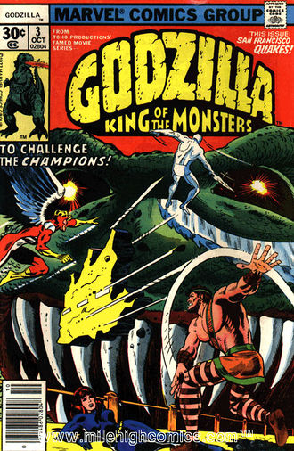 Cover of issue #3 by Herb Trimpe
