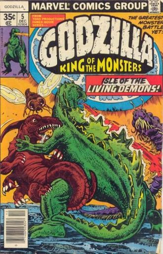 Cover of issue #5 by Herb Trimpe