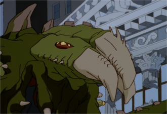 The Chameleon in the Godzilla: The Series episode, An Early Frost