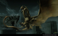 Godzilla King of the Monsters - Godzilla and King Ghidorah battle in a city.png