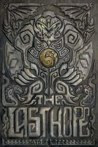 The English cover of The Last Hope