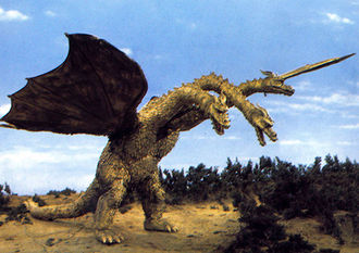 King Ghidorah in Zone Fighter