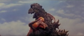 All Monsters Attack - Godzilla wrestles Kamacuras number 1.png