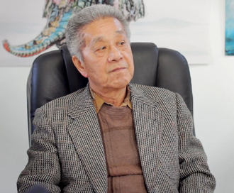 Toshiro Aoki in a 2013 interview for CHO Japan