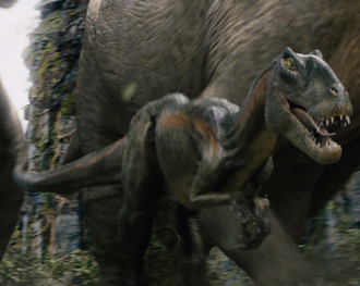 A Venatosaurus in King Kong (2005)