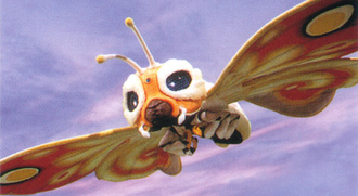Fairy Mothra in Rebirth of Mothra III