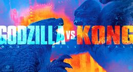 Banner for Godzilla vs. Kong