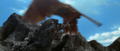 All Monsters Attack - Giant Condor flies in while in stock footage form 6.png