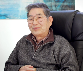 Jiro Shirasaki in a 2013 interview for CHO Japan