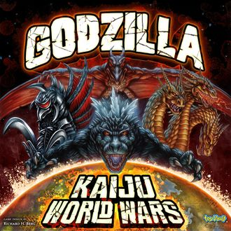 Box art for Godzilla: Kaiju World Wars