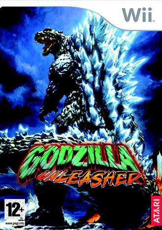 European PAL Godzilla: Unleashed Wii box art