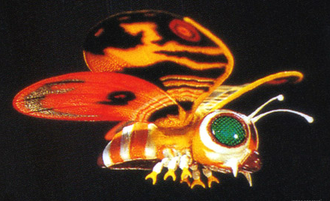 Fairy Mothra in Godzilla vs. SpaceGodzilla