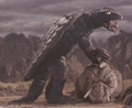 Gamera - 5 - vs Jiger - 19 - Gamera has fun beating up Jiger.png