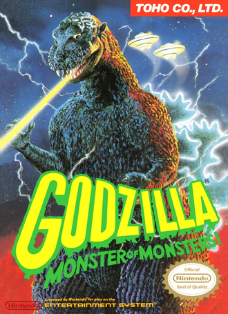 Godzilla: Monster of Monsters! American Box Art