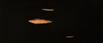 Natarl UFOs in Battle in Outer Space