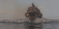 Gamera - 5 - vs Jiger - 23 - Jiger travels towards Japan at 190 MPH.png