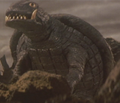 Gamera - 5 - vs Jiger - 15 - Gamera survived the flying Jiger.png