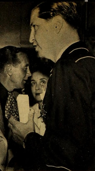John Beck at a charity benefit in 1950