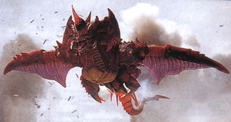 Flying Destoroyah in Godzilla vs. Destoroyah