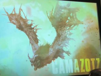 Artwork of Camazotz revealed at Los Angeles Comic Con 2019