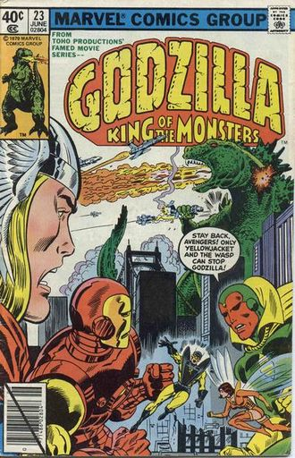 Cover of issue #23 by Herb Trimpe
