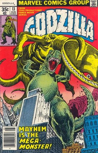 Cover of issue #13 by Herb Trimpe