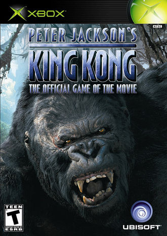 North American Xbox cover art for Peter Jackson's King Kong