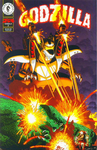 Cover of issue #2 by Arthur Adams