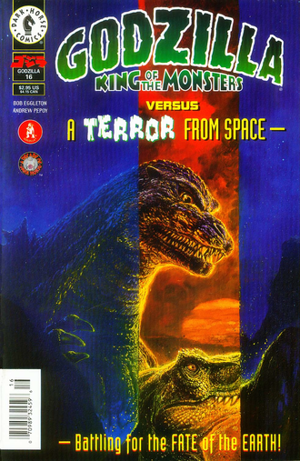 Cover of issue #16 by Bob Eggleton