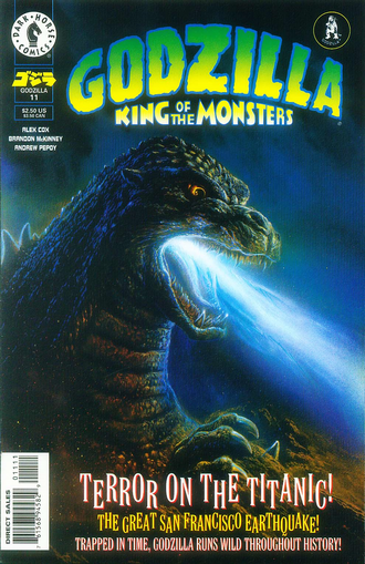 Cover of issue #11 by Bob Eggleton