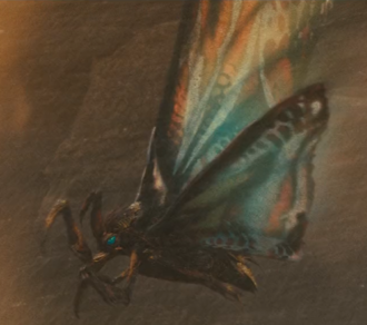Mothra Imago in Godzilla: King of the Monsters