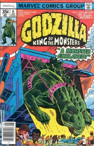 Cover of issue #6 by Herb Trimpe