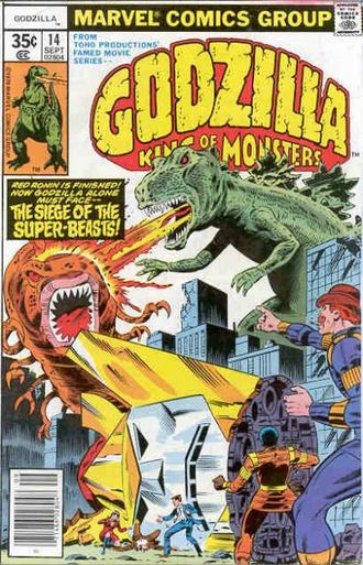 Cover of issue #14 by Herb Trimpe and Bob Layton